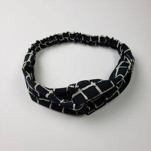 Wide Plaid Headband